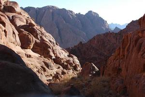Mountains of Rocks and Boulders in Lanscape view photo