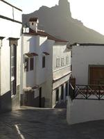 casas blancas a tejeda foto