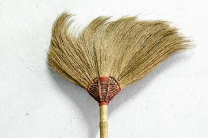 broom in house photo