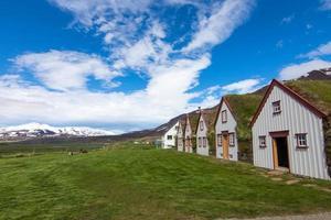 de oude laufas-boerderij in ijsland