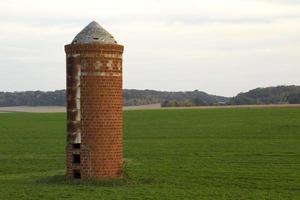 silo de granja viejo