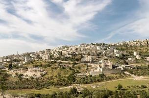 village palestinien - Jérusalem Est