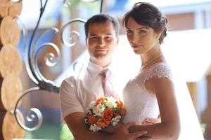 jonggehuwden huis housewarming bruid en bruidegom