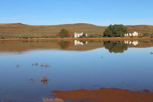 Karoo dam reflection