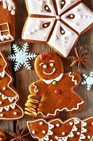 galletas de jengibre caseras de navidad