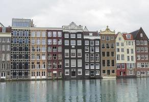 Amsterdam. House near the canal