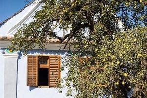 casa tradicional de viscri, transilvania