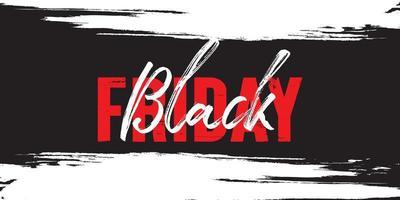 diseño de banner de venta de viernes negro vector