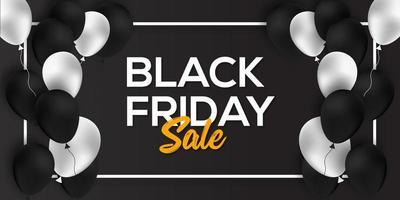 Black Friday Sale Banner Design Template  vector