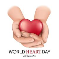 World heart day banner