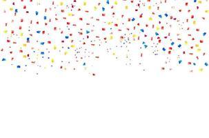 fondo de confeti de colores
