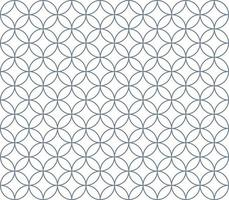 Circle and diamond Pattern vector