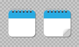 Calendar reminder flat design icon