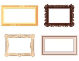 conjunto de marcos vacíos. vector