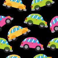 Cartoon Car Pattern vector