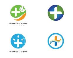 Medical logo images vector