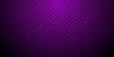 Diagonal purple striped gradient background vector