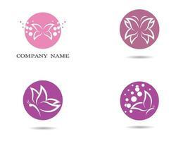 vlinder logo ontwerp