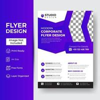 Corporate and Business Flyer Template vector