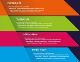 Infographic with colors