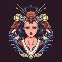 Geisha Japan Frau