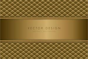 Luxury gold metal texture with upholstery.