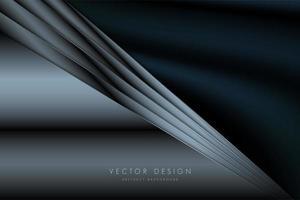 fondo de lujo azul metalizado vector