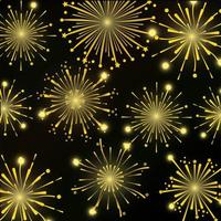 Fireworks pattern background