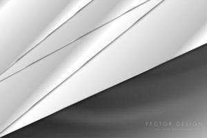 Fondo gris y plateado de lujo con textura de seda