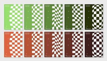 Set of abstract covers design.