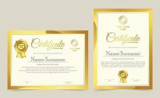 modelos de certificado profissional premiar design