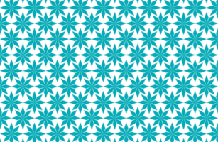 Geometric Floral Star Pattern vector