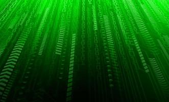 Green binary security concept background vector