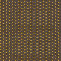 Seamless Pattern Gold Star on Brown Background