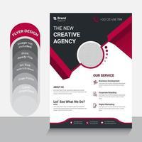 diseño de plantilla para folleto vector