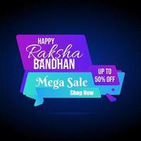 Rakhi Sale Poster  vector