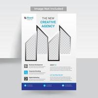 Business abstract template vector