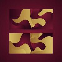 Color gradient background design vector