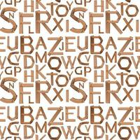 English alphabet seamless pattern background vector