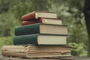 pile of old books photo