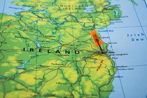 destino de viaje dublín irlanda foto