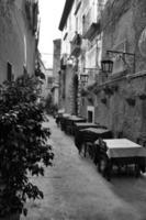 pequeño restaurante en el sur de italia foto