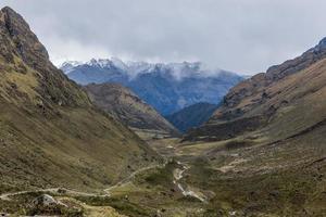 andean valley Cuzco Peru photo