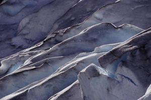 detalle del glaciar foto