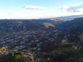 pequeña ciudad en el sur de armenia foto