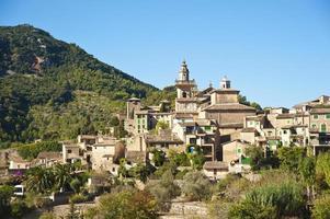 Pueblo de Valldemossa en Mallorca foto