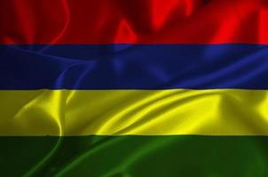 bandera de mauricio foto