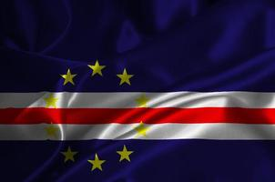 Cape Verde flag photo