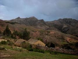 bolivia mountains panorama sucre inca path hiking
