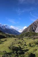 increíble vista de Mount Cook foto